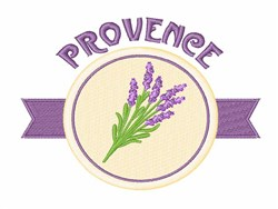 Provence France embroidery design