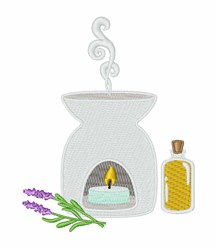 Aromatherapy embroidery design