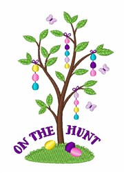 On The Hunt embroidery design