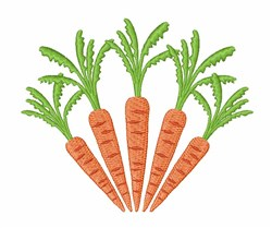 Carrots embroidery design