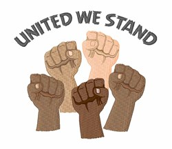 United We Stand embroidery design