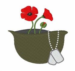 Veteran Memorial embroidery design