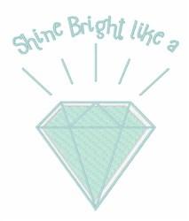Shine Bright embroidery design