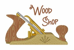 Wood Shop embroidery design