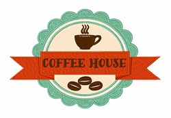 Coffee House embroidery design