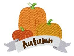 Autumn Pumpkins embroidery design