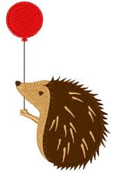 Birthday Hedgehog embroidery design