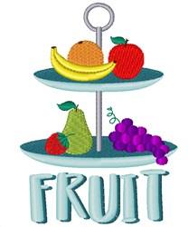 Fruit Platter embroidery design
