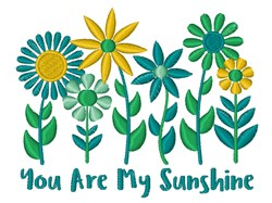 My Sunshine embroidery design