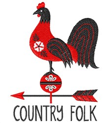Country Folk embroidery design