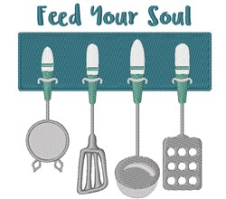 Feed Your Soul embroidery design