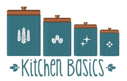 Kitchen Basics embroidery design