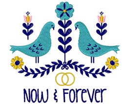 Now & Forever embroidery design