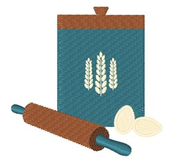 Kitchen Baking embroidery design