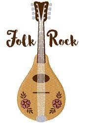 Folk Rock embroidery design