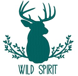 Wild Spirit embroidery design