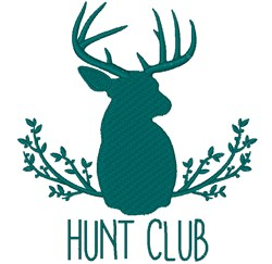 Hunt Club embroidery design