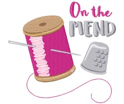 On The Mend embroidery design