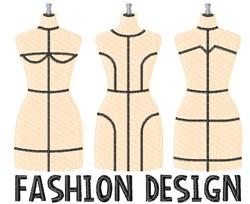 Fashion Design embroidery design
