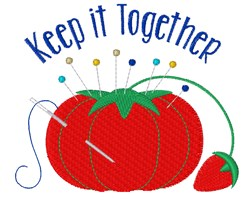 Keep It Together embroidery design