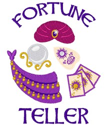 Fortune Teller embroidery design