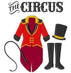 The Circus embroidery design