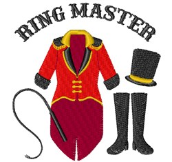 Ring Master embroidery design
