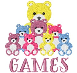 Game Prizes embroidery design