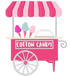 Cotton Candy embroidery design