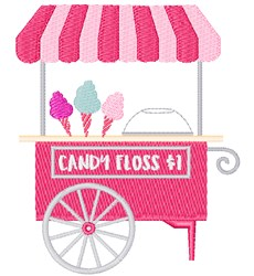 Candy Floss $1 embroidery design