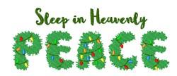 Heavenly Peace embroidery design
