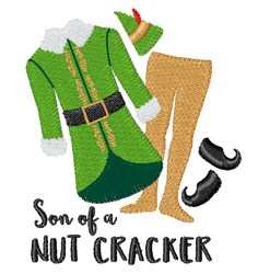 Nut Cracker embroidery design