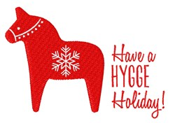 Hygge Holiday embroidery design