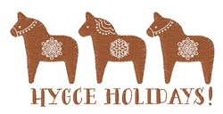 Hygge Holidays embroidery design