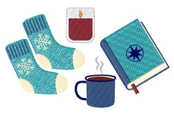 Cozy Winter Comforts embroidery design