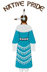 Native Pride embroidery design