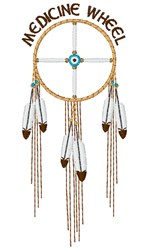 Medicine Wheel embroidery design