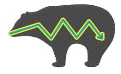 Native American Bear embroidery design