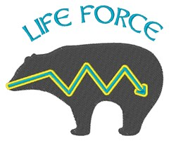 Life Force embroidery design