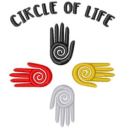 Circle Of Life embroidery design