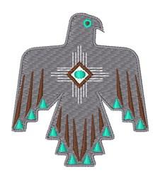 Thunderbird Symbol embroidery design