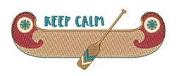 Keep Calm embroidery design