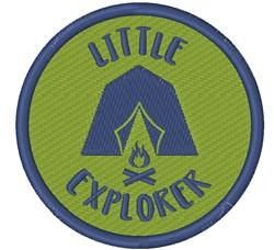 Little Explorer embroidery design