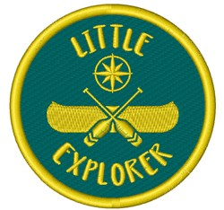 Little Explorer embroidery design