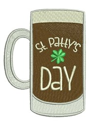 St. Pattys Day embroidery design