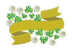 Shamrock Banner embroidery design