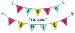 Party In Our Camper embroidery design