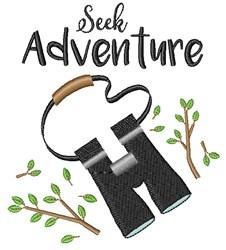 Seek Adventure embroidery design