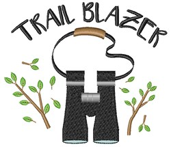 Trail Blazer embroidery design