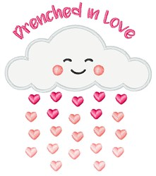 Drenched In Love embroidery design